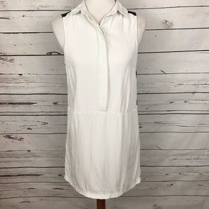 Topshop Shirt Dress Sleeveless Size 2